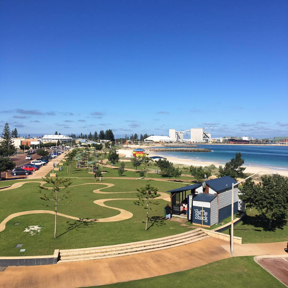Geraldton Foreshore and Coffee Strip