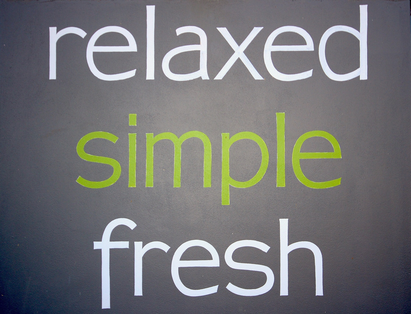 Relaxed Simple Fresh
